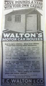 Waltons Garden Buildings History