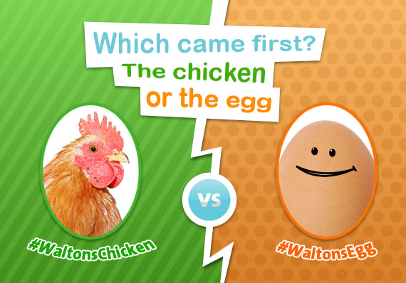 Chicken vs. Egg Competition Banner